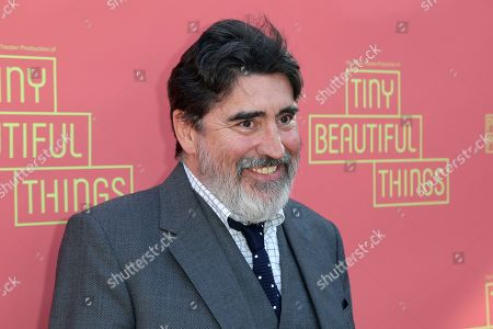 "Alfred Molina arrives at the opening night of ""Tiny Beautiful Things"" at the Playhouse Pasadena, in Pasadena, Calif"