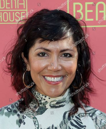 """Stock Picture of Laura Ceron arrives at the opening night of """"Tiny Beautiful Things"""" at the Playhouse Pasadena, in Pasadena, Calif"""