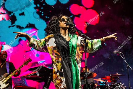 Editorial photo of 2019 Coachella Music And Arts Festival - Weekend 1 - Day 3, Indio, USA - 14 Apr 2019
