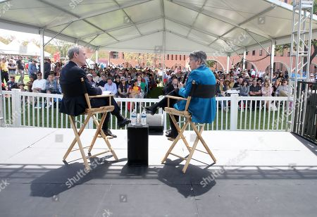 Editorial picture of Los Angeles Times Festival Of Books, Day 2, Los Angeles, USA - 14 Apr 2019