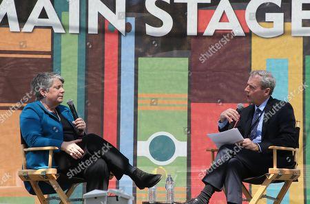 Janet Napolitano and Scott Kraft