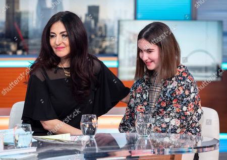 Laleh Shahravesh and daughter Paris
