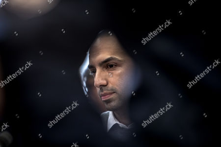 Arash Nahvi waits for the start of court proceedings at the Municipal Court in Prague, Czech Republic, 15 April 2019. The prosecutor accused two Dutch men, Armin and Arash Nahvi, from a group of seven men, of attempted murder. Seven Dutch men were arrested in Prague for allegedly assaulting a waiter in the center of the city on 21 April 2018. According to media reports, the men were caught on CCTV video footage attacking a waiter, who told them they could not drink their own alcohol while sitting on the cafe terrace. The assaulted waiter was in intensive care at a hospital, where he was treated with brain hemorrhage, broken facial bones and an injured eye.