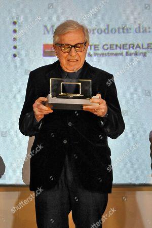 Italian director Paolo Taviani receives the Lifetime Achievement Award