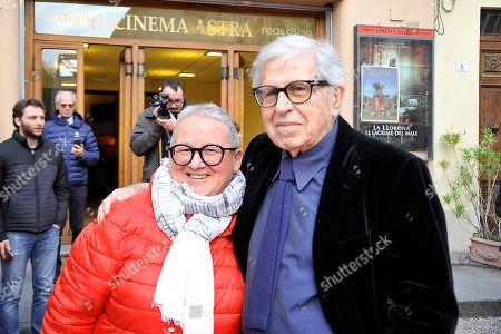 Stock Picture of Italian director Paolo Taviani