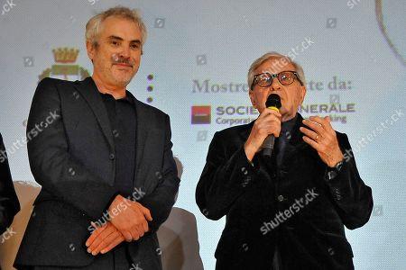 Alfonso Cuaron and Paolo Taviani