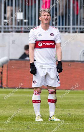 Bastian Schweinsteiger (31) in action