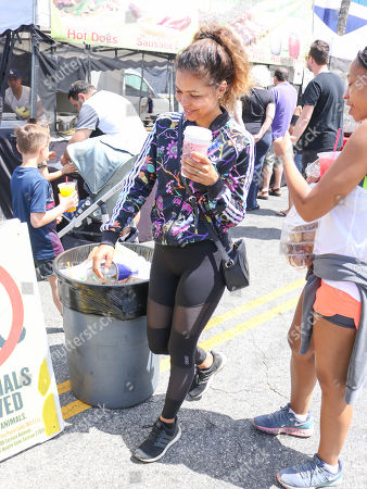 Jennifer Freeman at Studio City Farmer's Market
