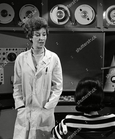 Stock Image of Patricia Jessel, as The Psychiatrist, and Rosalie Crutchley, as The Queen