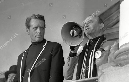 Patrick McGoohan, as Number Six, and Eric Portman, as Number Two