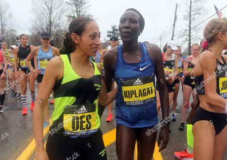 Editorial picture of Boston Marathon, Hopkinton, USA - 15 Apr 2019