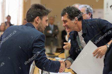 Editorial photo of Antonio Banderas at the University of Malaga, Spain - 15 Apr 2019