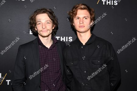 Stock Photo of Mike Faist and Ansel Elgort