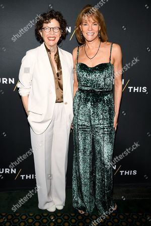 Annette Bening and Carolyn McCormick