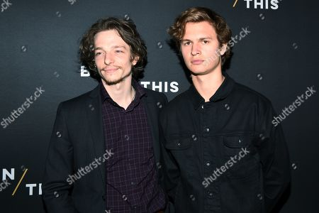 Mike Faist and Ansel Elgort