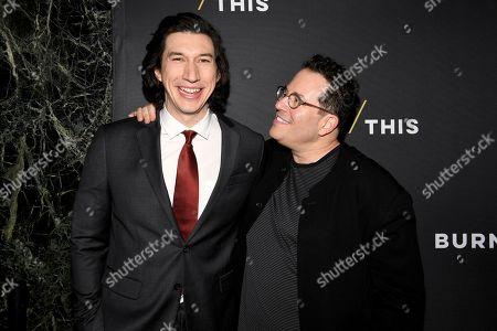Adam Driver and Michael Mayer