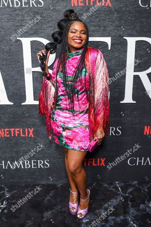 Editorial image of 'Chambers' TV show season one premiere, Arrivals, New York, USA - 15 Apr 2019