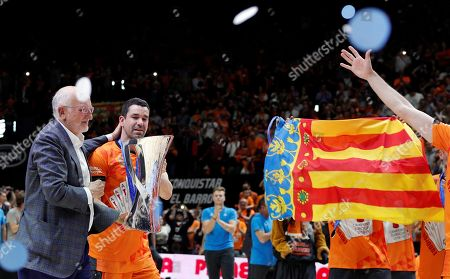 Editorial image of Valencia Basket vs Alba Berlin, Spain - 15 Apr 2019