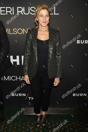 "Edie Falco attends the Broadway opening night of Lanford Wilson's ""Burn This,"" at the Hudson Theatre, in New York"