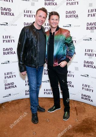 Marc Murphy and David Burtka