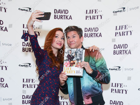 Editorial picture of 'Life is A Party Cookbook' by David Burtka launch, New York, USA - 15 Apr 2019