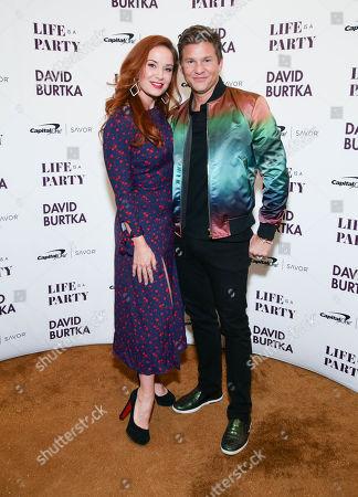 Stock Photo of Pam Murphy and David Burtkaa