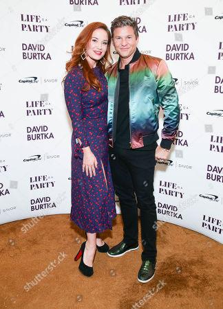 Pam Murphy and David Burtka