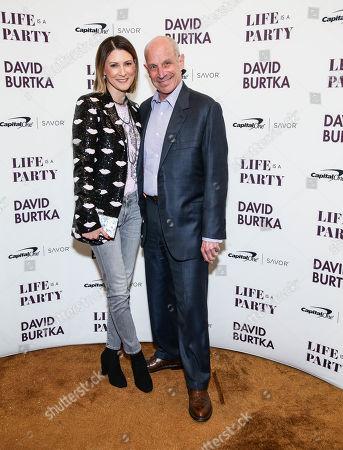 Lizzie Tisch and David Tisch