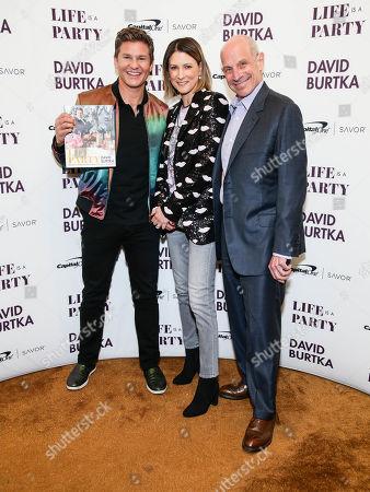 David Burtka, Lizzie Tisch and David Tisch