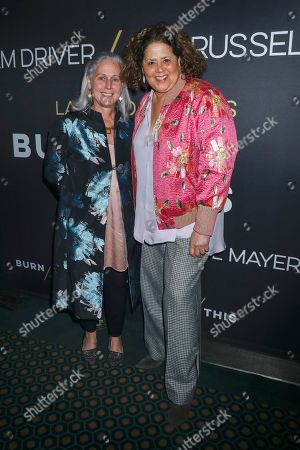 Editorial image of 'Burn This' Broadway play opening night, Arrivals, New York, USA - 15 Apr 2019