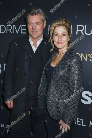 Bill Sage and Edie Falco