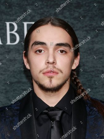 """Griffin Powell-Arcand attends the season one premiere of Netflix's """"Chambers"""" at Metrograph, in New York"""