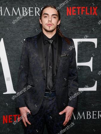 "Editorial photo of NY Premiere of Netflix's ""Chambers"" Season One, New York, USA - 15 Apr 2019"