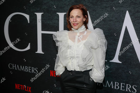 """Lili Taylor attends the season one premiere of Netflix's """"Chambers"""" at Metrograph, in New York"""
