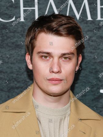 """Stock Picture of Nicholas Galitzine attends the season one premiere of Netflix's """"Chambers"""" at Metrograph, in New York"""