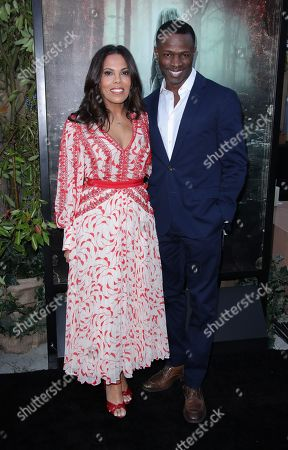 Stock Photo of Aonika Laurent and Sean Patrick Thomas
