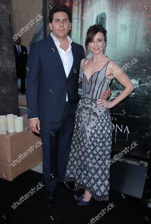 Steve Rodriguez and Linda Cardellini