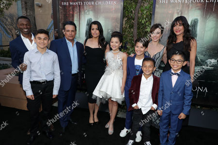 Editorial picture of New Line Cinema film premiere of 'The Curse of La Llorona' at The Egyptian Theatre, Los Angeles, USA - 15 Apr 2019