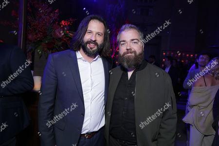 Gary Dauberman, Producer, David Sandberg