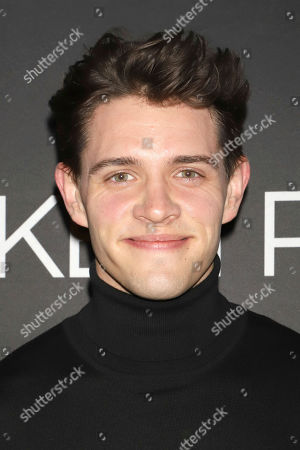 "Casey Cott attends the Broadway opening night of Lanford Wilson's ""Burn This"" at the Hudson Theatre, in New York"