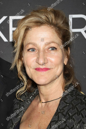 "Edie Falco attends the Broadway opening night of Lanford Wilson's ""Burn This"" at the Hudson Theatre, in New York"