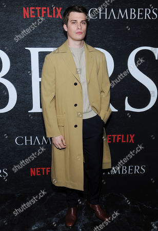 Editorial photo of 'Chambers' TV show season one premiere, Arrivals, New York, USA - 15 Apr 2019