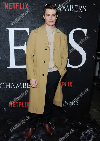 Editorial picture of 'Chambers' TV show season one premiere, Arrivals, New York, USA - 15 Apr 2019