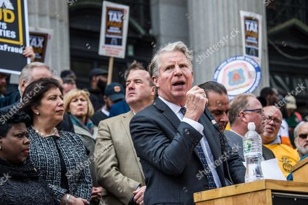 Stock Image of New York County District Attorney Cyrus Vance Jr.