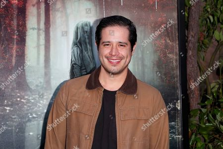 Jorge Diaz arrives for the premiere of Warner Bros' 'The Curse Of La Llorona' at the Egyptian Theatre in Hollywood, Los Angeles, California, USA, 15 April 2019. The movie will be released in the US on 19 April.