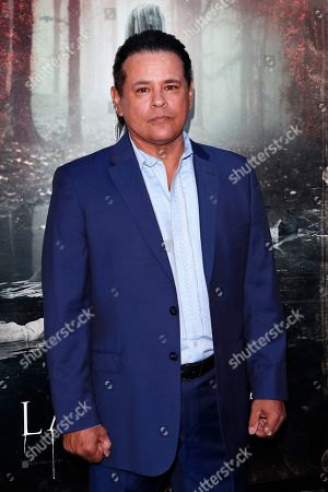 Raymond Cruz arrives for the premiere of Warner Bros' 'The Curse Of La Llorona' at the Egyptian Theatre in Hollywood, Los Angeles, California, USA, 15 April 2019. The movie will be released in the US on 19 April.