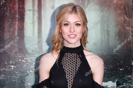Stock Picture of Kat McNamara arrives for the premiere of Warner Bros' 'The Curse Of La Llorona' at the Egyptian Theatre in Hollywood, Los Angeles, California, USA, 15 April 2019. The movie will be released in the US on 19 April.