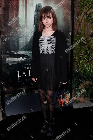 Allisyn Ashley Arm arrives for the premiere of Warner Bros' 'The Curse Of La Llorona' at the Egyptian Theatre in Hollywood, Los Angeles, California, USA, 15 April 2019. The movie will be released in the US on 19 April.