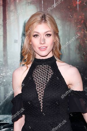 Kat McNamara arrives for the premiere of Warner Bros' 'The Curse Of La Llorona' at the Egyptian Theatre in Hollywood, Los Angeles, California, USA, 15 April 2019. The movie will be released in the US on 19 April.