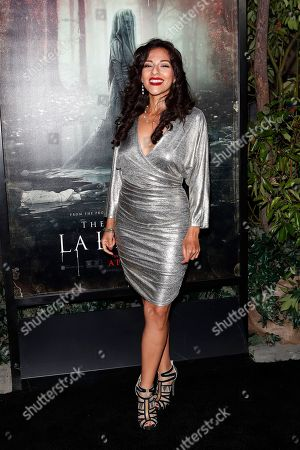 Tracy Perez arrives for the premiere of Warner Bros' 'The Curse Of La Llorona' at the Egyptian Theatre in Hollywood, Los Angeles, California, USA, 15 April 2019. The movie will be released in the US on 19 April.